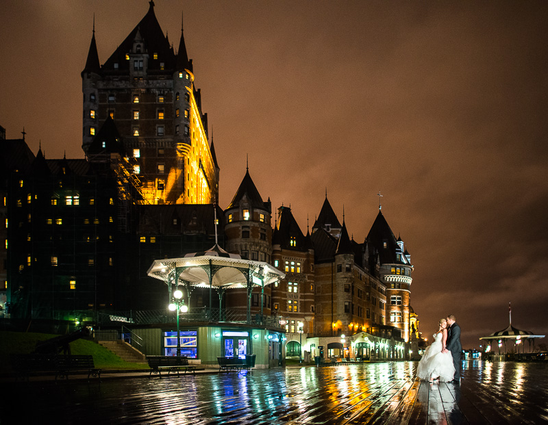 chateau frontenac wedding quebec (32)